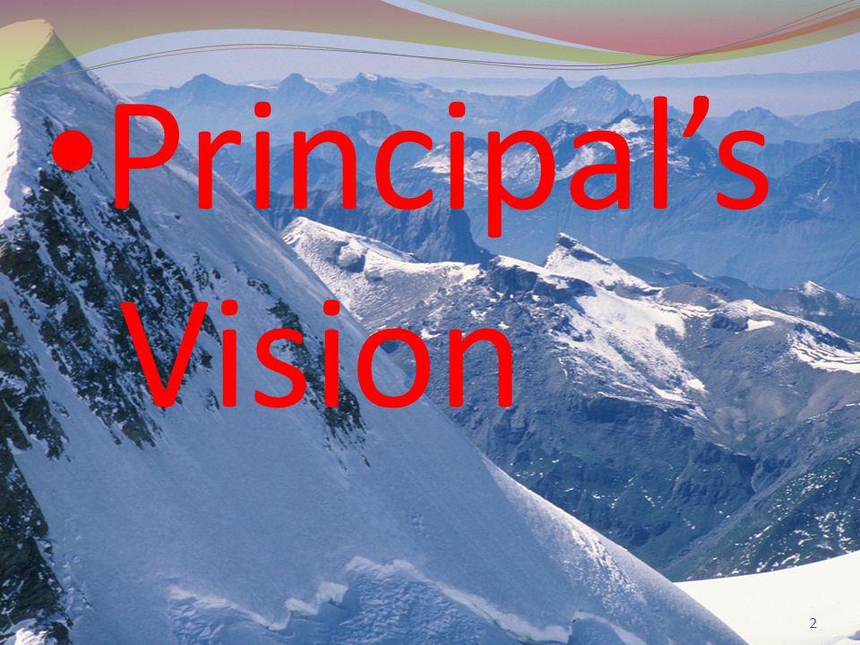 Principal's Vision 2