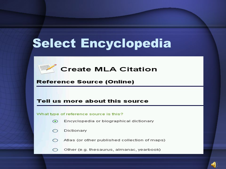 Select Online & click Next