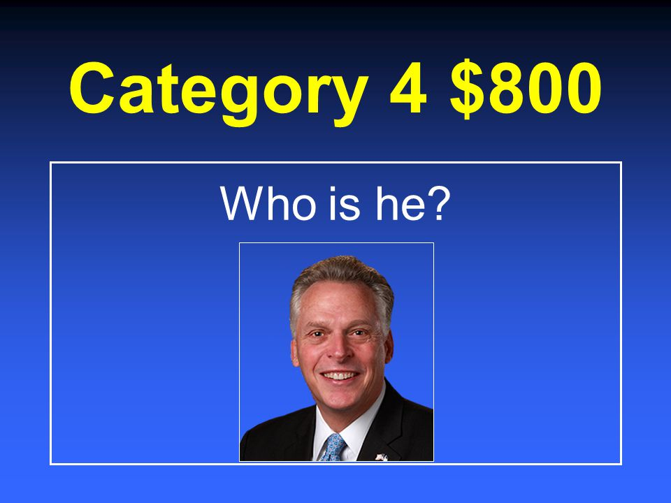 Category 4 $600 What is an eleven letter word you can spell only using the top alphabetic row on the keyboard?