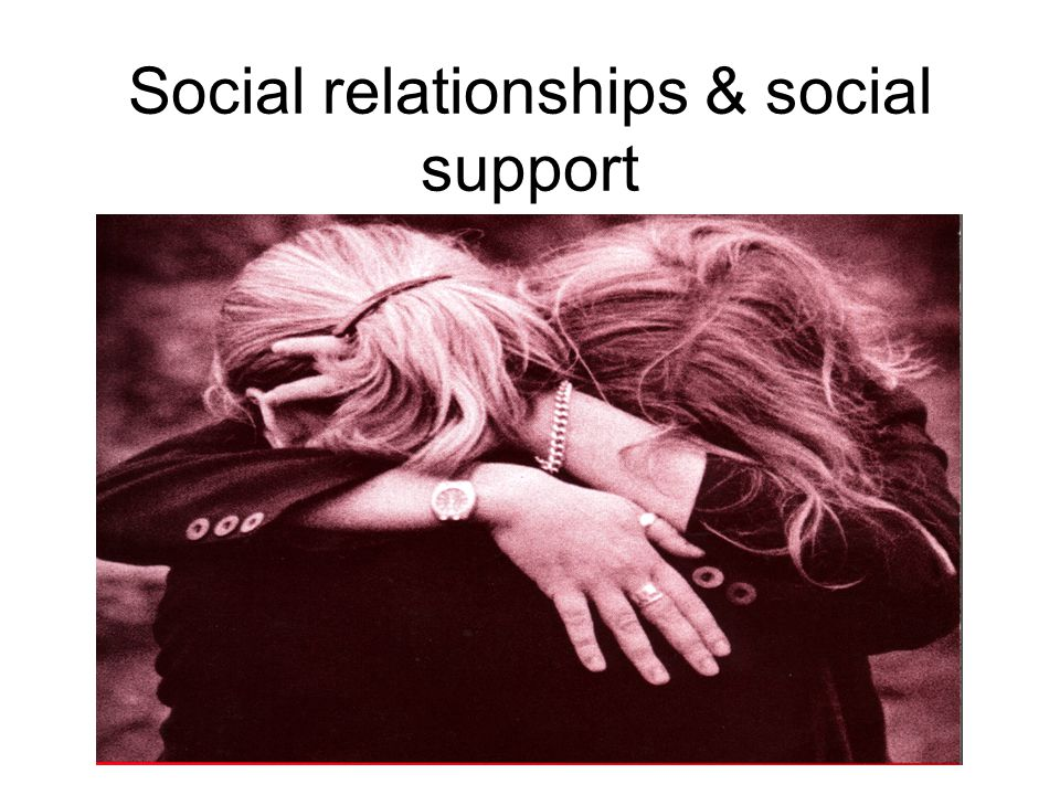 www.rethink.org Social relationships & social support