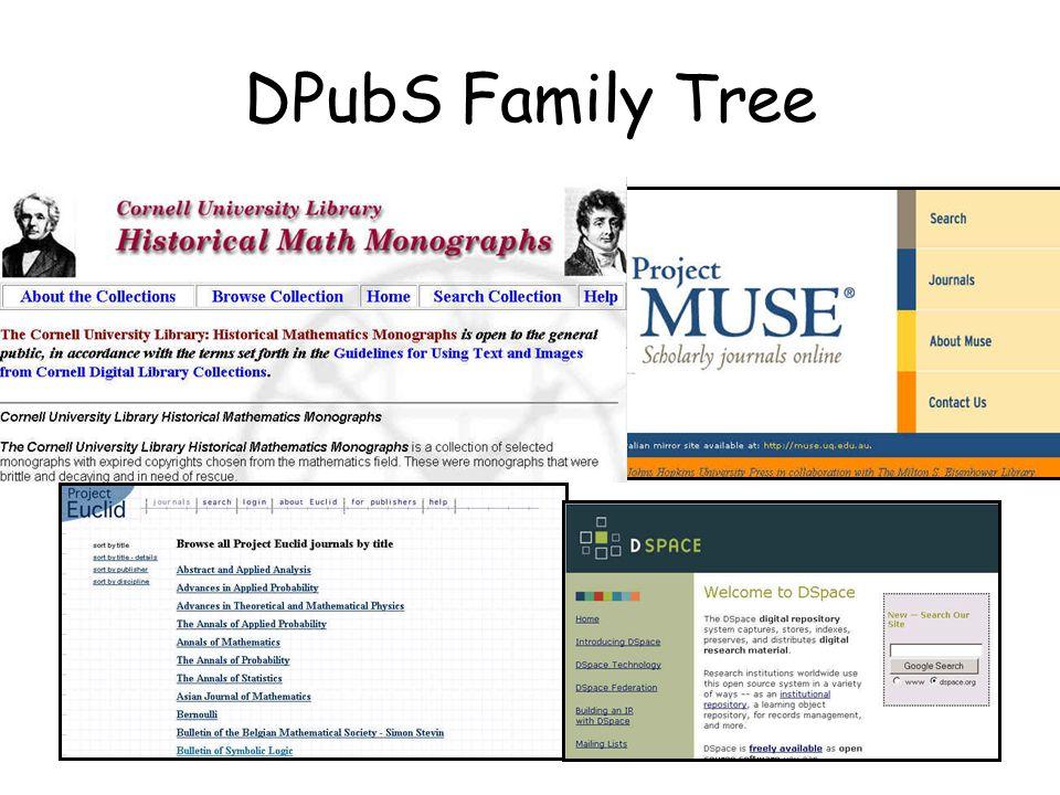 DPubS Family Tree
