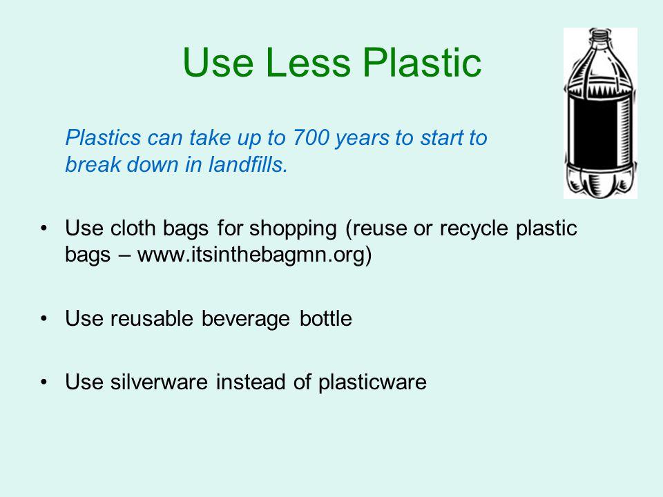 Buy Smart 30% of trash is packaging.