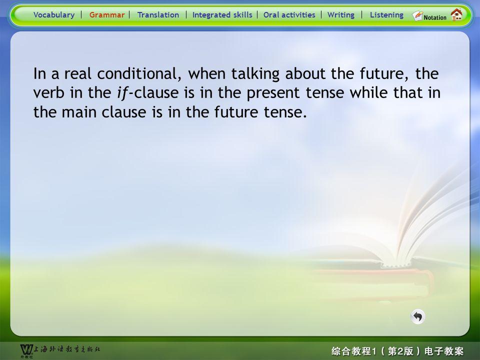 Consolidation Activities- Grammar_P2 VocabularyTranslationIntegrated skillsOral activitiesWritingListeningGrammar Practice: Put the verbs in brackets