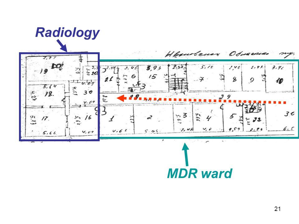 Radiology MDR ward 21