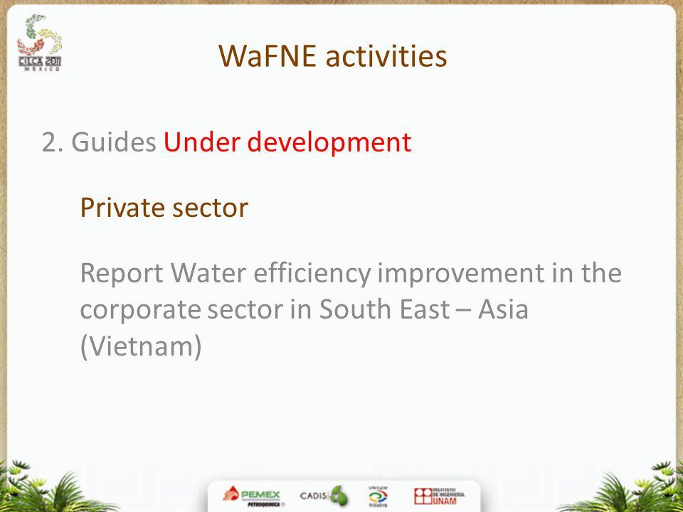 WaFNE activities 2.