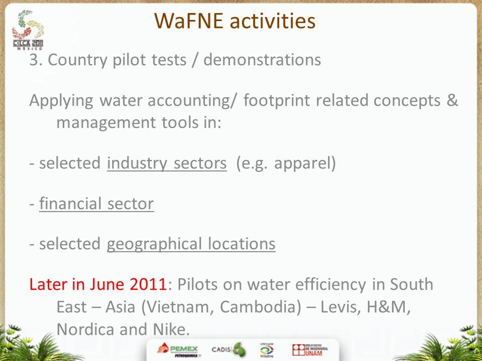 WaFNE activities 3.