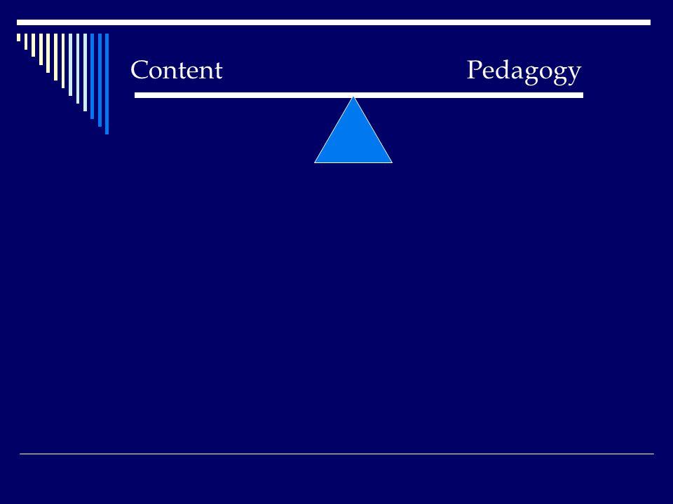 Content Pedagogy