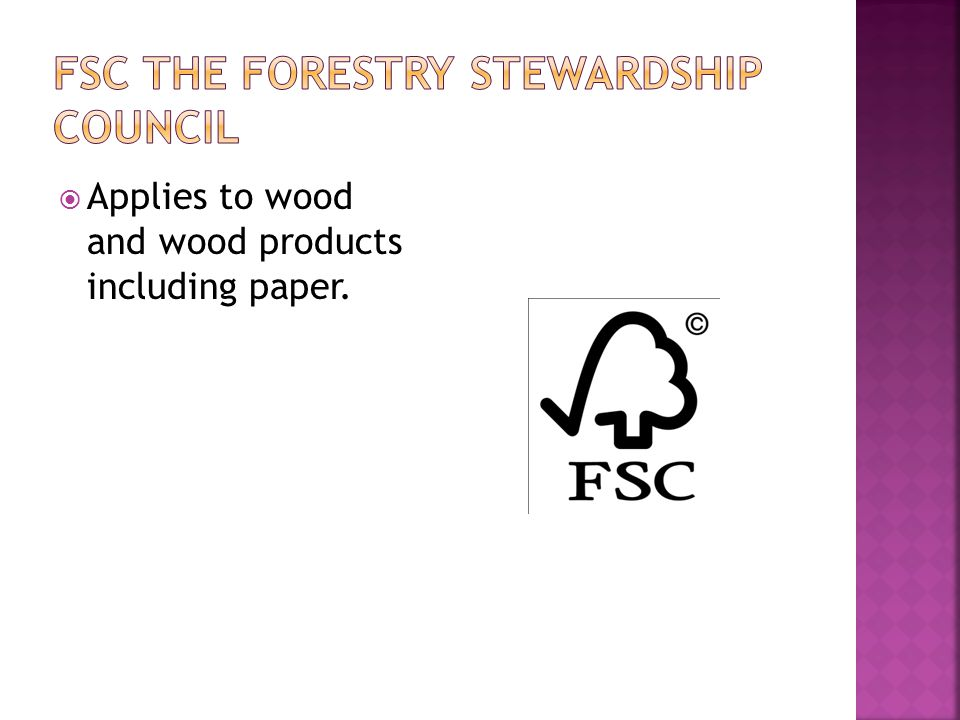  Applies to wood and wood products including paper.