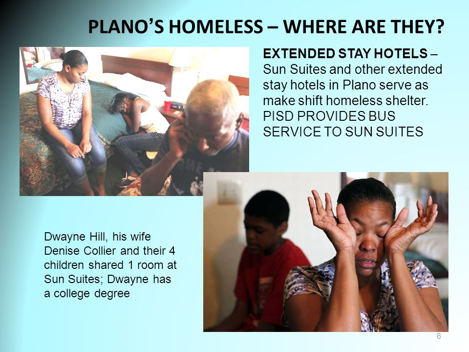 PLANO'S HOMELESS – WHERE ARE THEY.