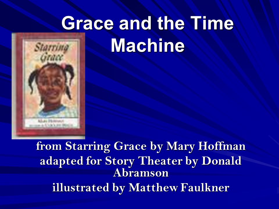 Grace and the Time Machine p.
