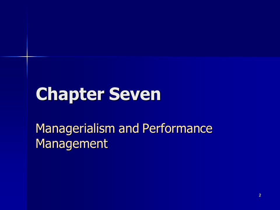 3 Key Topics Definition of Managerialism Definition of Managerialism Definition of Reingineering Definition of Reingineering New Public Management New Public Management Performance Management Performance Management Total Quality Management Total Quality Management