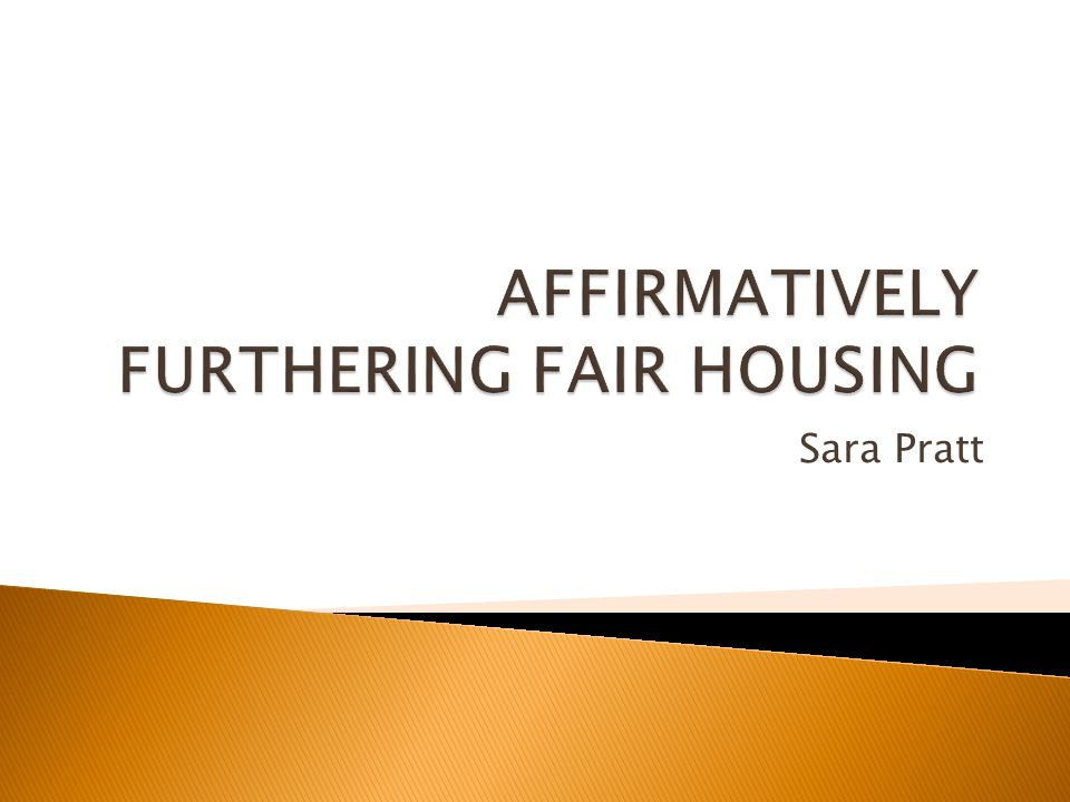  Supreme Court found that one of the purposes of the Fair Housing Act was replacing ghettos with truly integrated living environments.