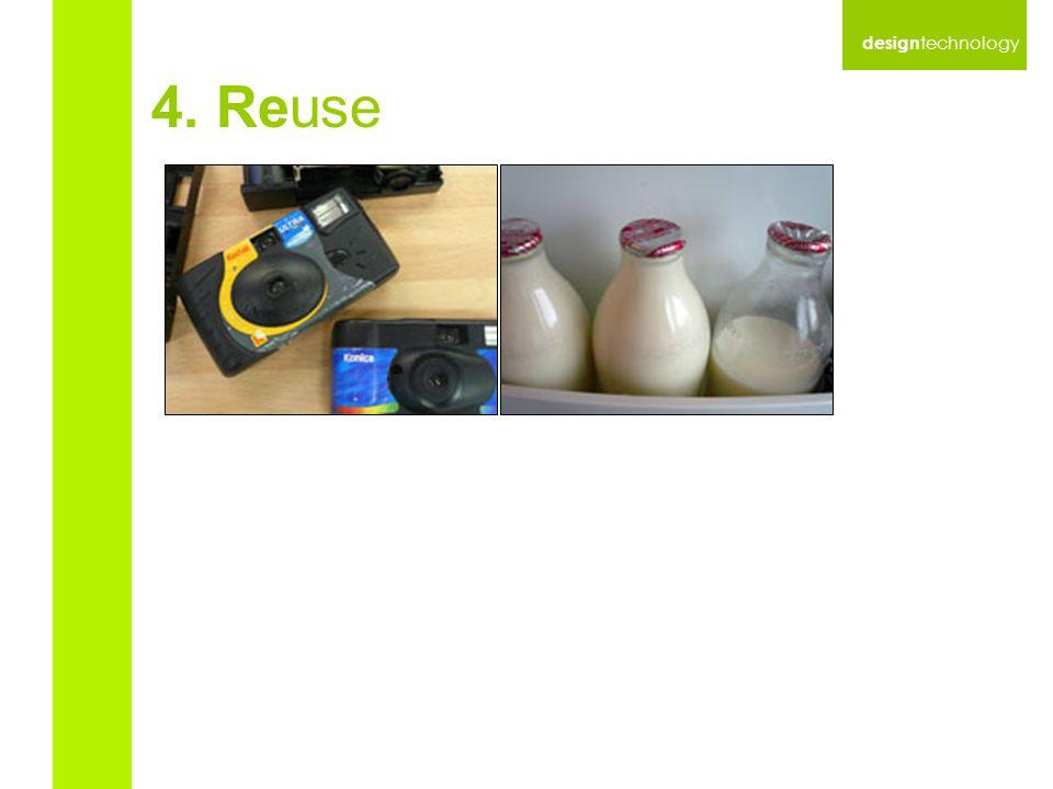 design technology 4. Reuse