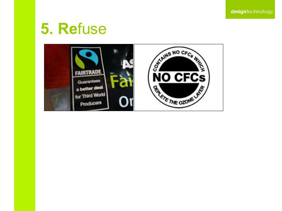 design technology 5. Refuse
