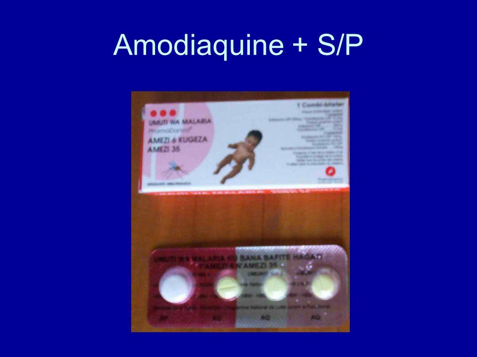 Amodiaquine + S/P