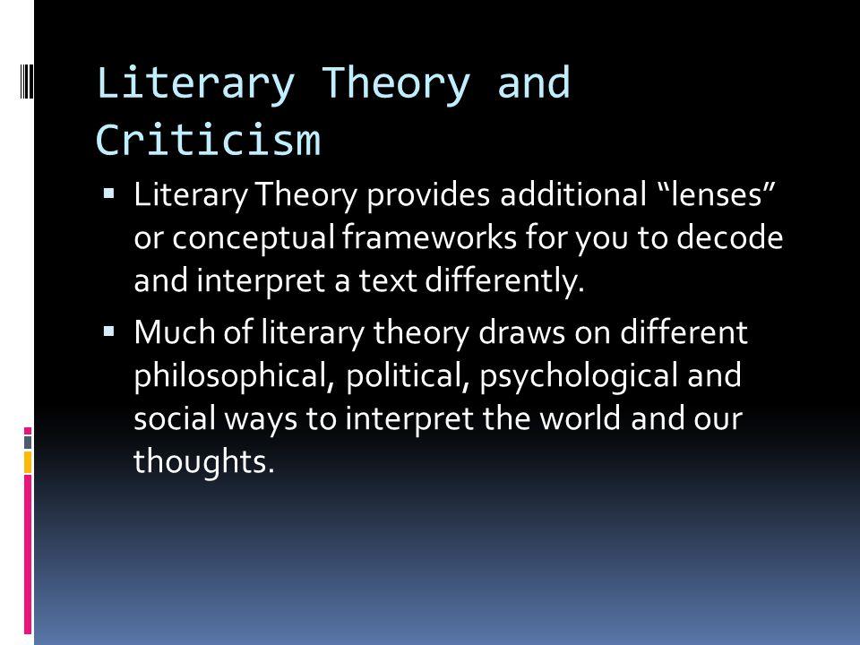 Key Element of PM Literary Theory: Hermeneutics  Embracing multiple interpretations of texts.