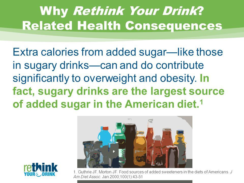 Why Rethink Your Drink.
