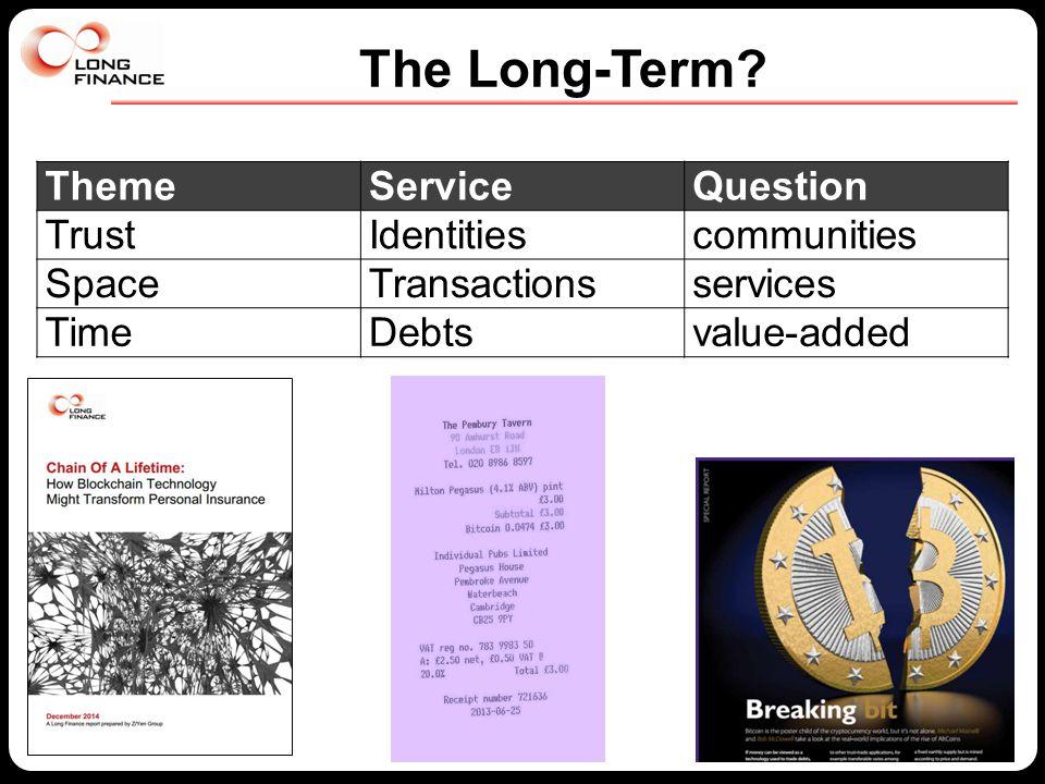 The Long-Term.