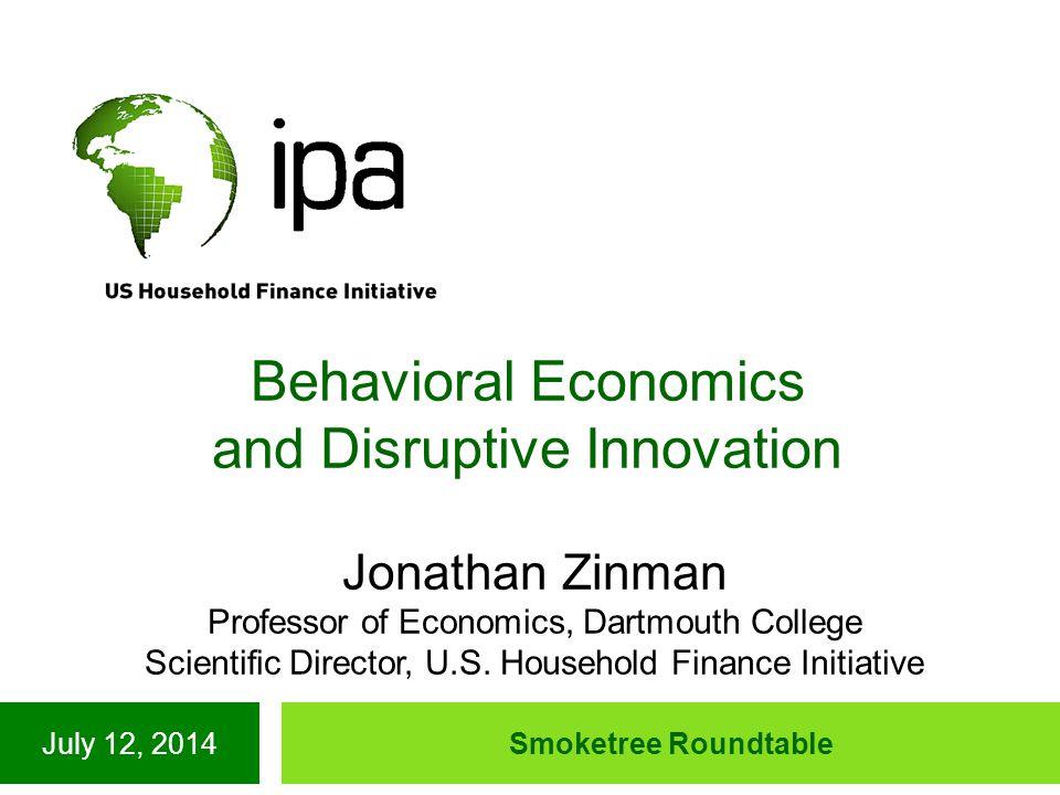 What is Behavioral Economics (BE).
