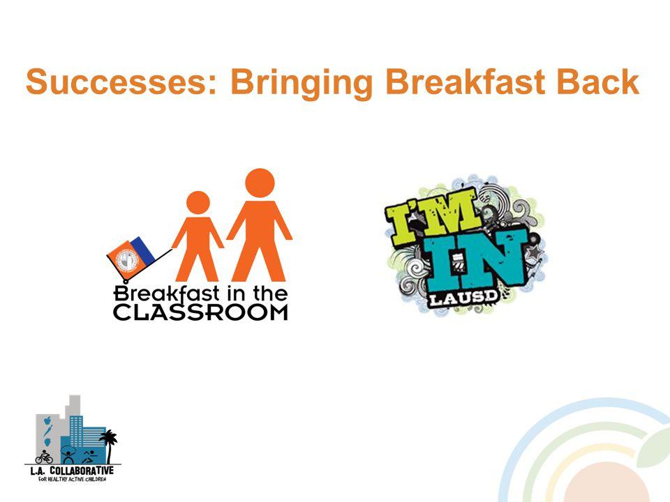 Successes: Bringing Breakfast Back
