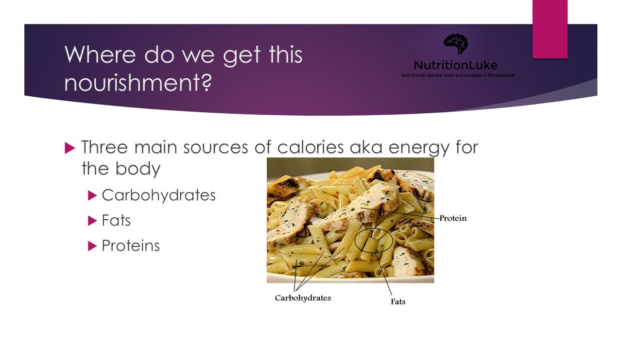 Carbohydrates A food substance that is used as a primary energy source for the body and mind.