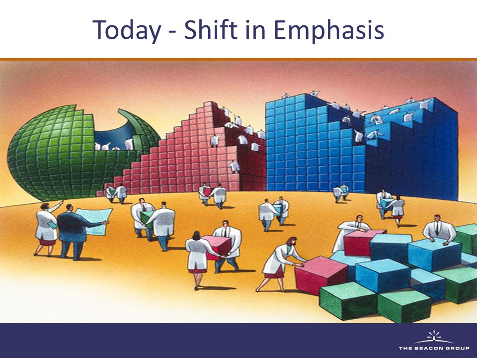 Today - Shift in Emphasis