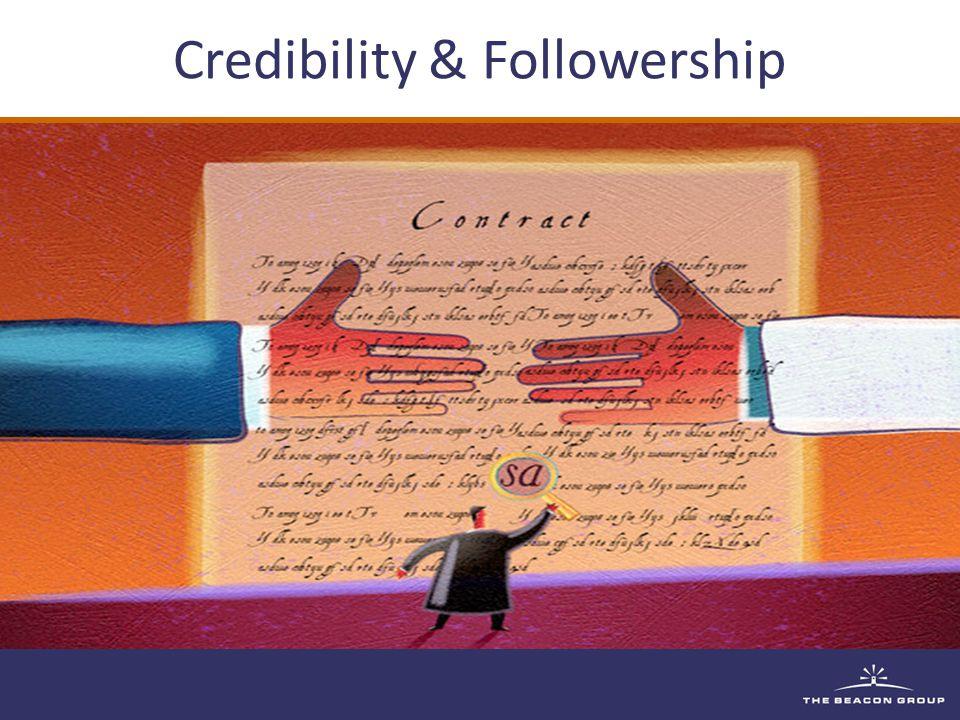 Credibility & Followership