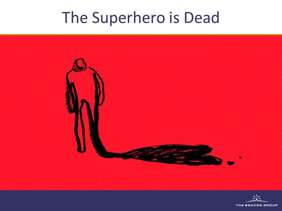 The Superhero is Dead