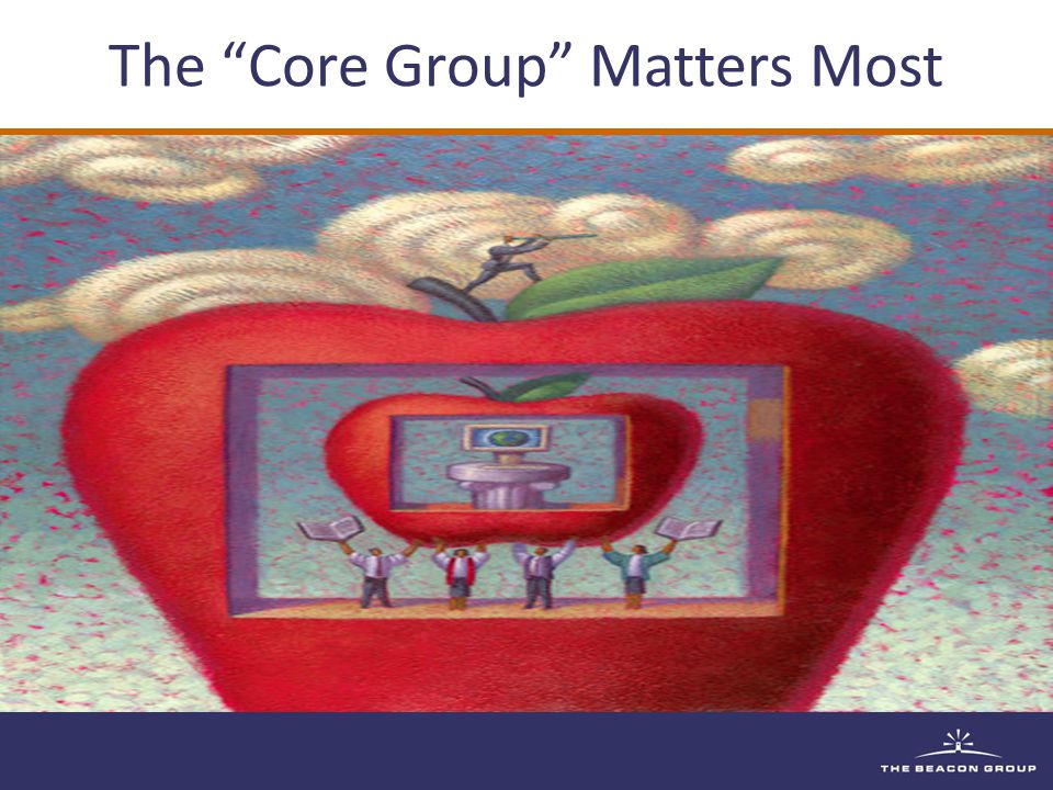 The Core Group Matters Most
