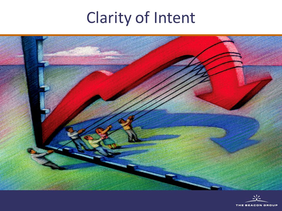 Clarity of Intent