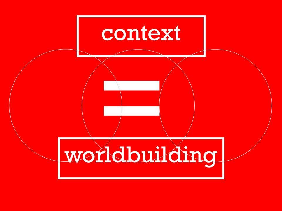 context worldbuilding =