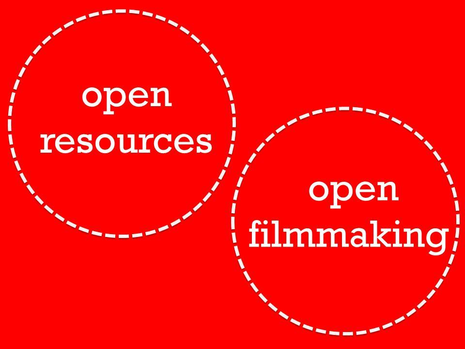 open resources open filmmaking