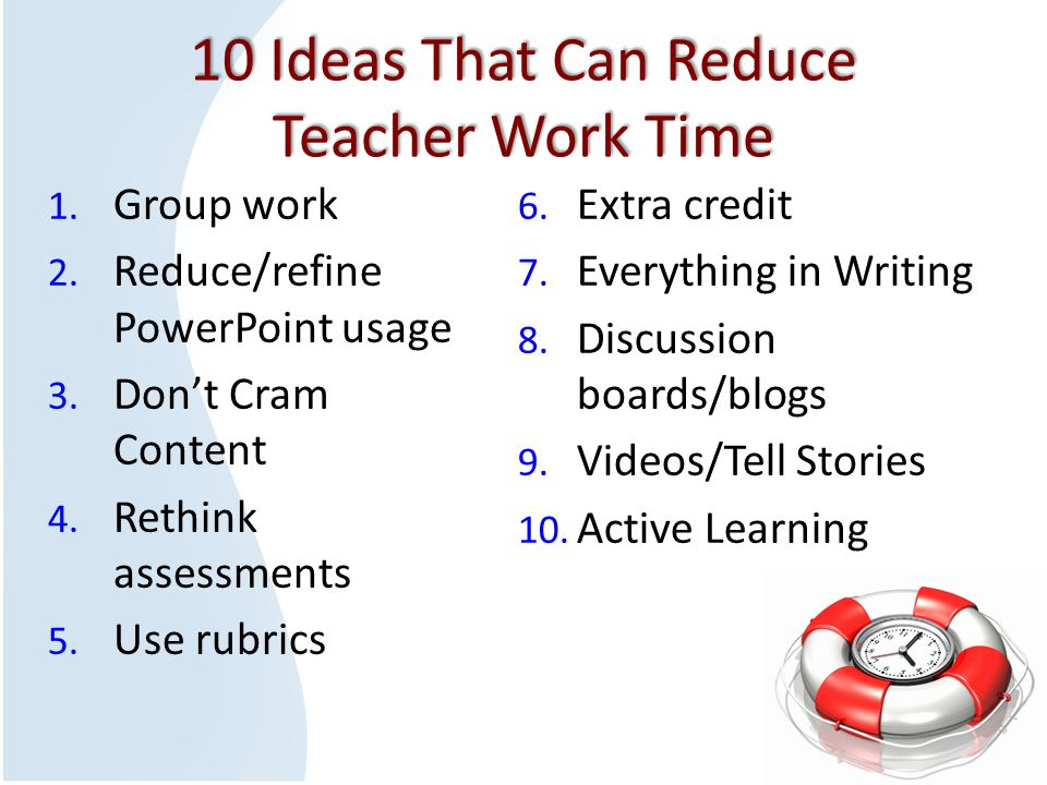 Use Group Work  In class  For assignments  For projects