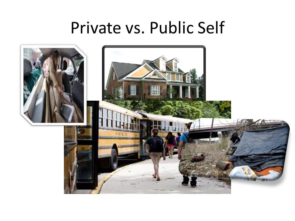 Private vs. Public Self