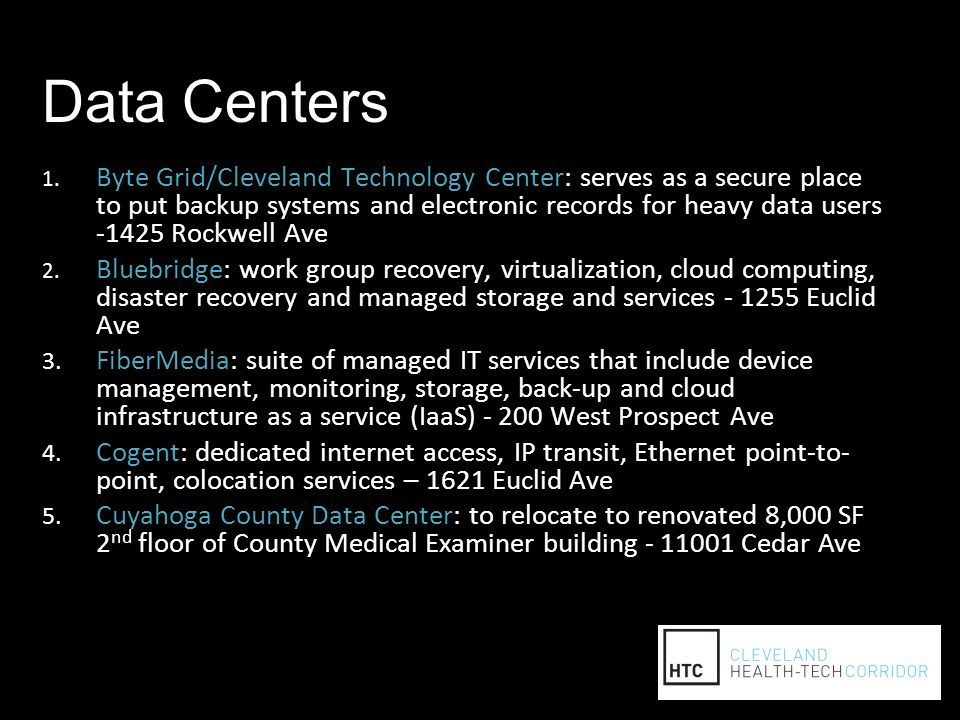 Data Centers 1.