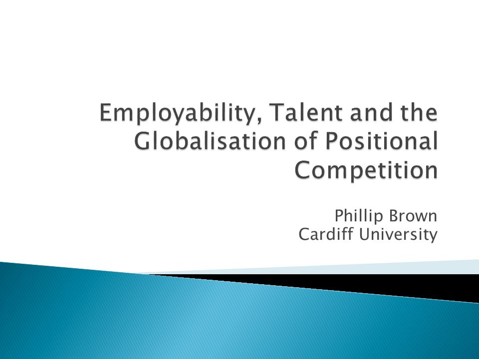 Phillip Brown Cardiff University