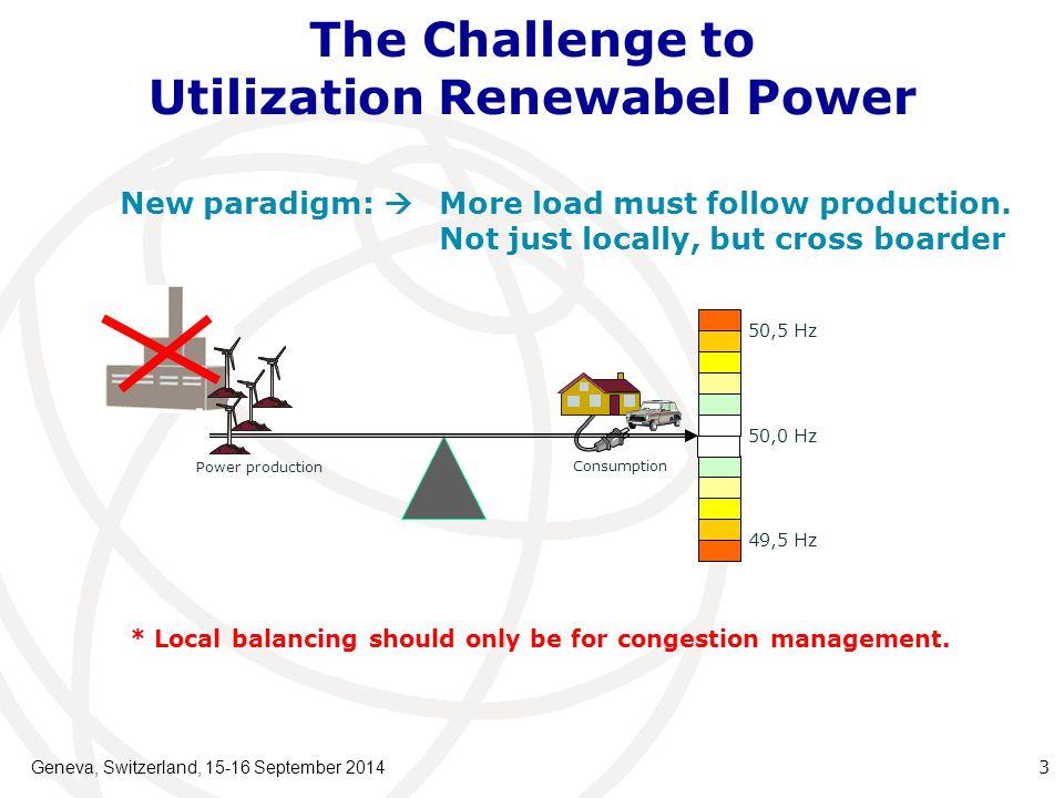 The Challenge of the Changing Power System Geneva, Switzerland, 15-16 September 2014 4 SC HVDC NO/SE HVDC NL HVAC DE HVAC SE 400 kV 10 kV 0,4 kV SVC 150 kV 60 kV