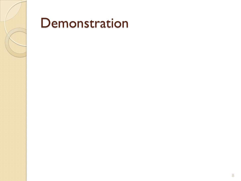 Demonstration 8