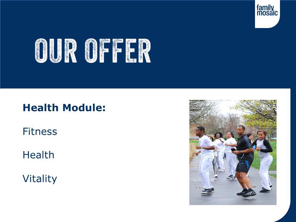 Health Module: Fitness Health Vitality