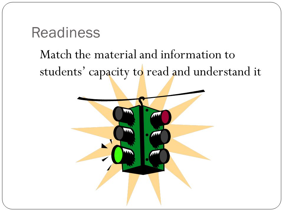Interests Including ideas and materials that build current student interests or extend student interests