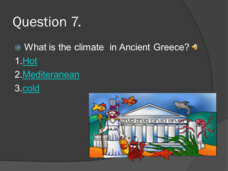 Question 6 Which is not an Ancient Greece Olympic event.