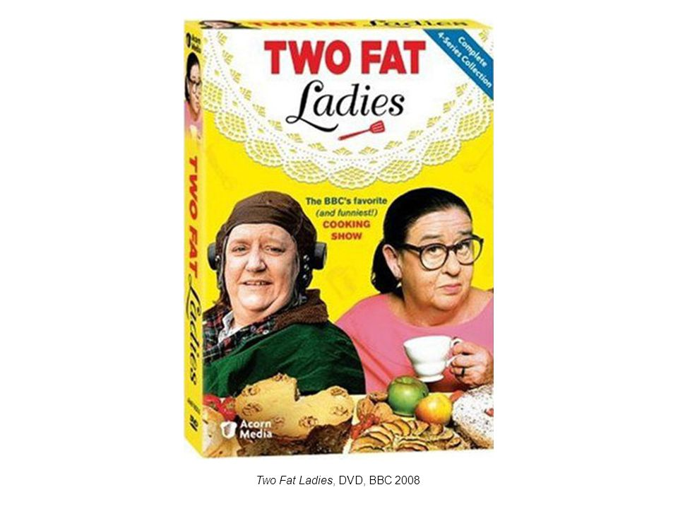 Two Fat Ladies, DVD, BBC 2008