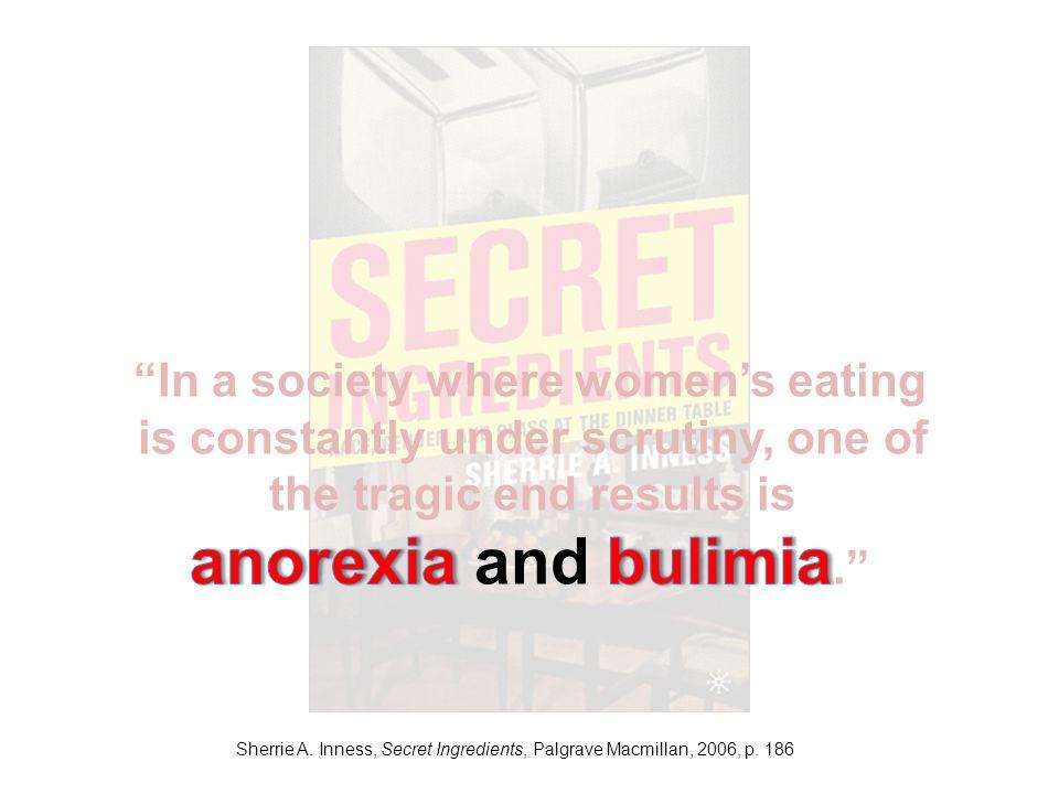 Sherrie A. Inness, Secret Ingredients, Palgrave Macmillan, 2006, p. 186