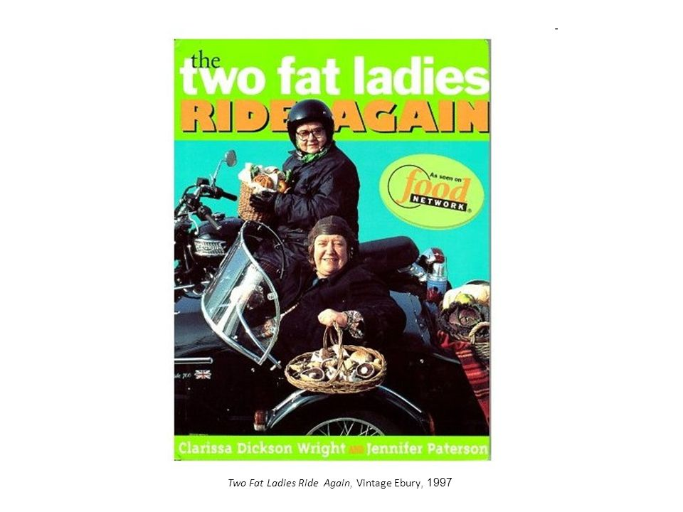 Two Fat Ladies Ride Again, Vintage Ebury, 1997
