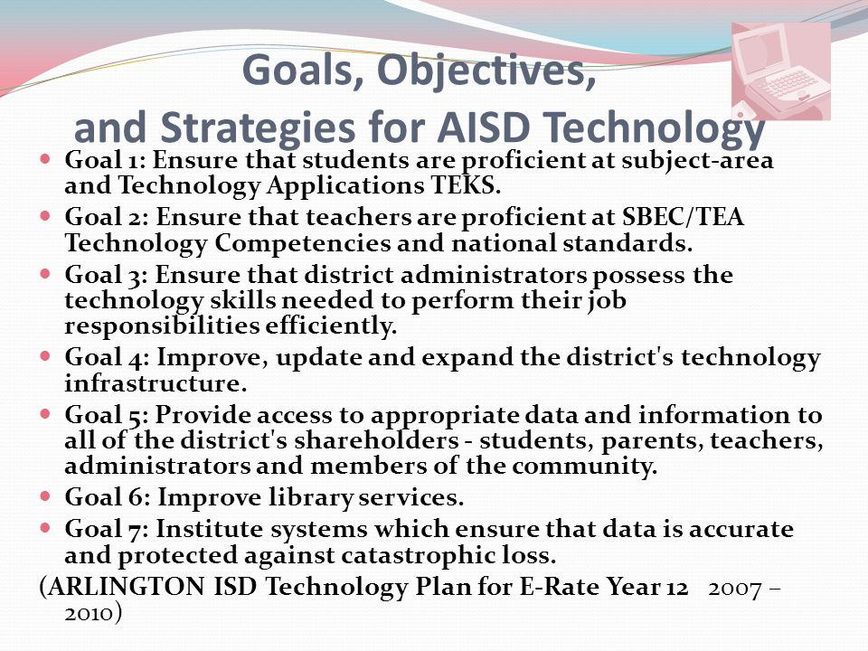 Technology Funding These are some of the ways AISD funded technology: Bond monies presented to voters.