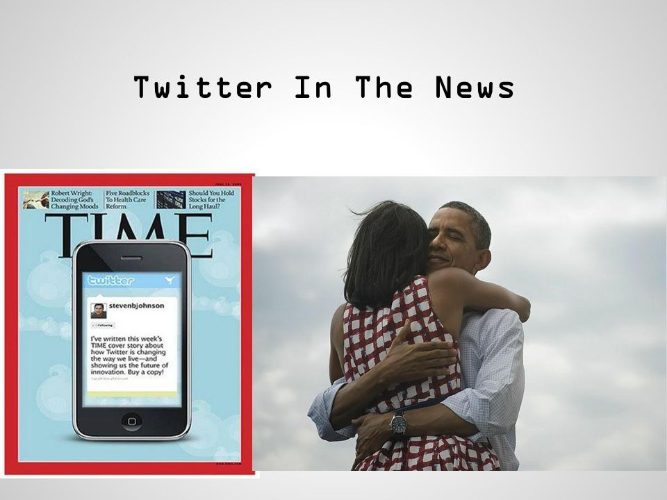 Twitter In The News