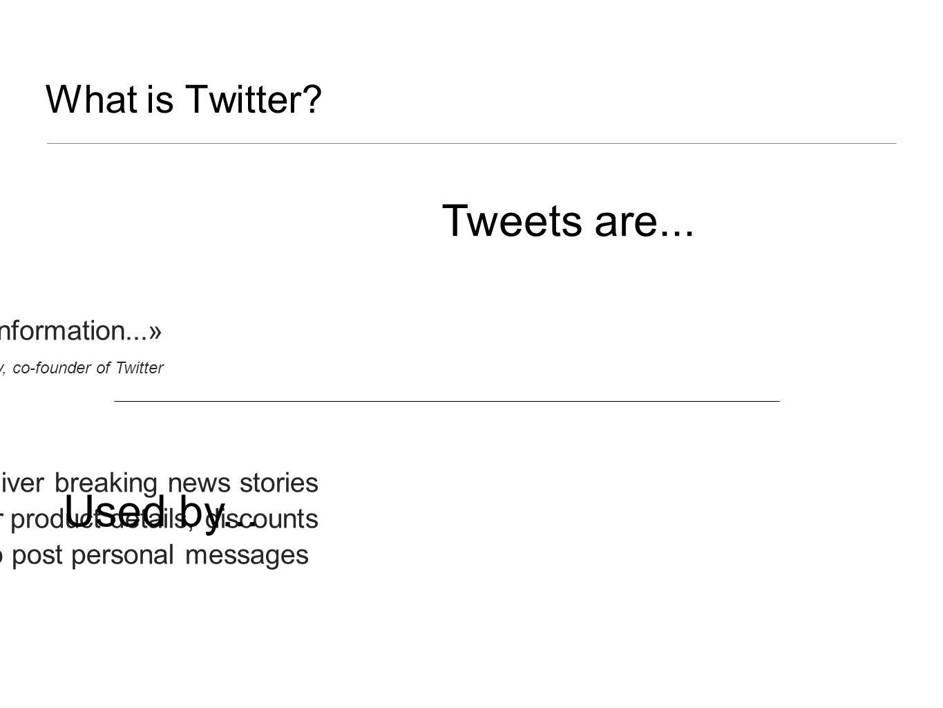 What is Twitter.