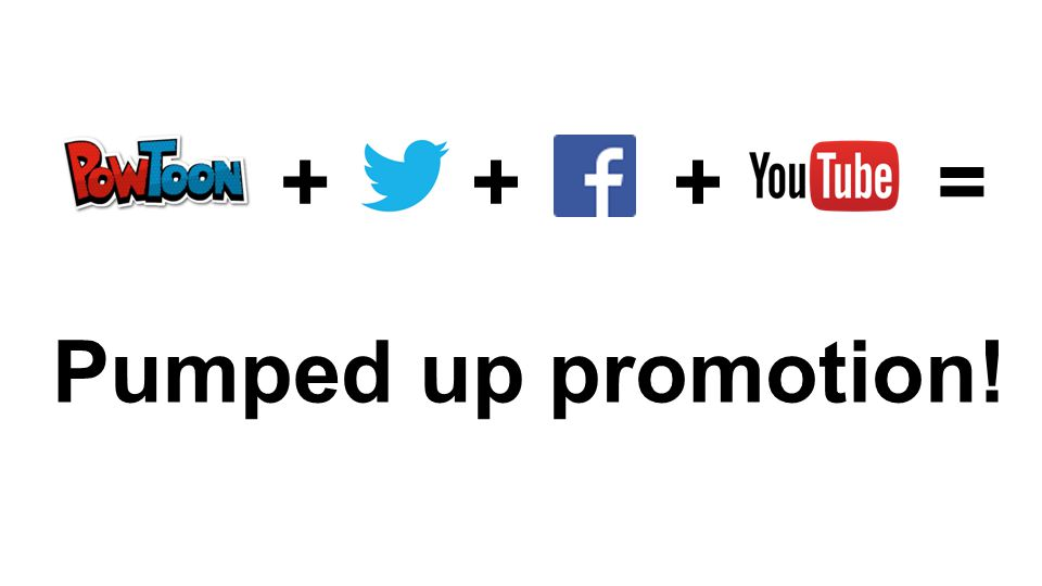 +++= Pumped up promotion!