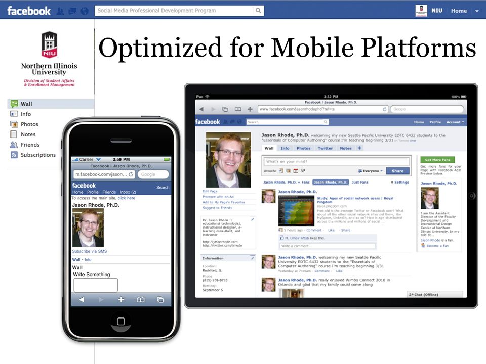 Optimized for Mobile Platforms