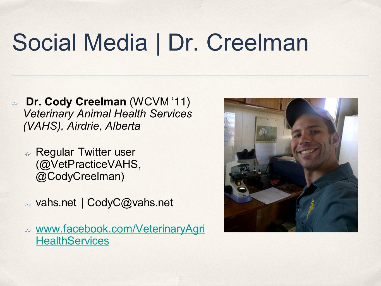 Social Media | Dr. Creelman ✤ Dr.